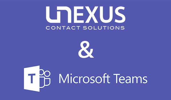 Microsoft Teams integratie Unexus